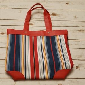 Lancome Striped Tote Bag